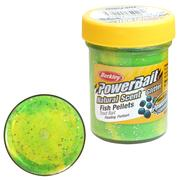 Паста Berkley 50g FISH PELLET - FLUO GREEN YELLOW
