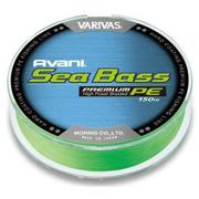 Шнур Varivas Avani Sea Bass PE 150м #1.0 нагр. 8кг зеленый