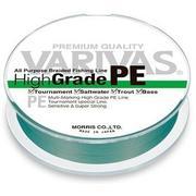 Шнур Varivas High Grade PE 150м #1.0 нагр. 6кг зеленый
