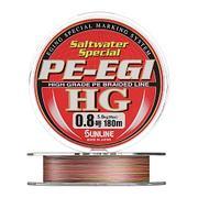 Плетенка SUNLINE PE EGI HG 180 м 1.5 нагр. 10 кг/25 Lb