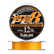 Плетенка SUNLINE SUPER PE 8 BRAID 150 м 1.2 нагр. 6 кг 12LB