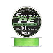 Плетенка SUNLINE SUPER PE 300 м 2.0 (0.235 мм) нагр. 9 кг/20 Lb Light Green