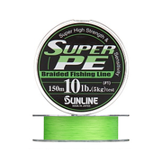 Плетенка SUNLINE SUPER PE 300 м 2.5 (0.26 мм) нагр. 11.3 кг/25 Lb Light Green