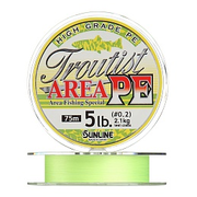 Плетенка SUNLINE TROUTIST AREA PE 75 м 0.2 нагр. 2.1 кг/5 Lb