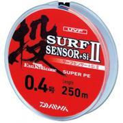 Шнур Daiwa SURF SENSOR +Si 250м #0.6 нагр. 3.5кг цветной