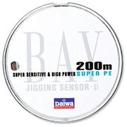 Шнур Daiwa BAY JIGGING SENSOR 200м #1.5 нагр. 9кг цветной