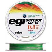 Шнур Daiwa EGI LD+Si 180м #0.8 нагр. 5.8кг цветной