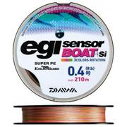 Шнур Daiwa EGI SENSOR BOAT+Si 210м #0.6 нагр. 4.6кг цветной