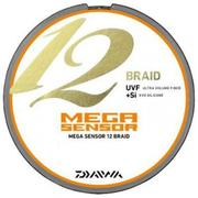 Шнур Daiwa MEGASENSOR 12BRAID 300м #6.0 нагр. 45.3кг цветной