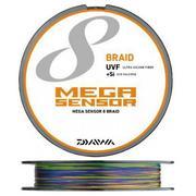 Шнур Daiwa MEGASENSOR X8 100м #12 нагр. 60кг цветной