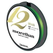 Шнур Daiwa MORETHAN 12BRAID 150м #1.2 нагр. 12.3кг зеленый