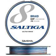 Шнур Daiwa SALTIGA 8 Braid UVF +Si 400м #8 нагр. 44кг цветной