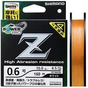 Шнур Power Pro Z 150м #1.2 нагр. 12.2кг Orange