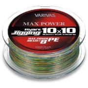 Шнур VARIVAS AVANI JIGGING 10x10 MAX POWER 200м #1.5 нагр. 28.6LB цветной