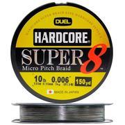 Шнур Duel HARDCORE SUPER 8 135 м 0.41 мм 30 кг Camo
