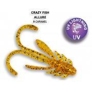 Crazy Fish ALLURE 1.5'/09-Caramel