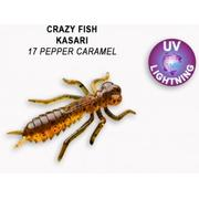 Crazy Fish Kasari Floating 1' 17 Pepper Caramel