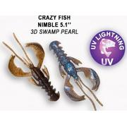 Crazy Fish  Nimble 5' #3D Swamp Pearl