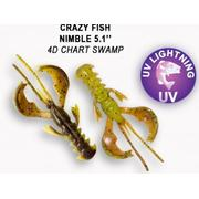 Crazy Fish  Nimble 5' #4D Chart Swamp