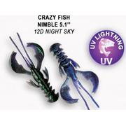 Crazy Fish  Nimble 5' #12D Night Sky
