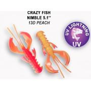 Crazy Fish  Nimble 5' #13D Peach