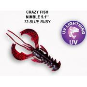 Crazy Fish  Nimble 5' #73 Blue Ruby