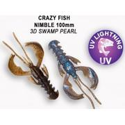 Crazy Fish Nimble 4' #3D Swamp Pearl