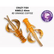 Crazy Fish  Nimble 1.6' #8D Orange Coffee