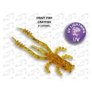 Crazy Fish Crayfish 1.7'/09-Caramel