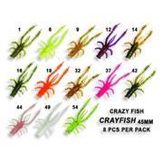 Crazy Fish Crayfish 1.7'/12-Ultraviolet