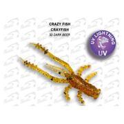 Crazy Fish Crayfish 1.7'/32-Dark Beer