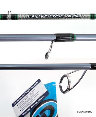 Спиннинг CD RODS Extrasense NANO 702M 213 см 6-24 гр