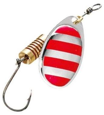 Блесна DAM Spinner Single Hook №3 6гр Stripe