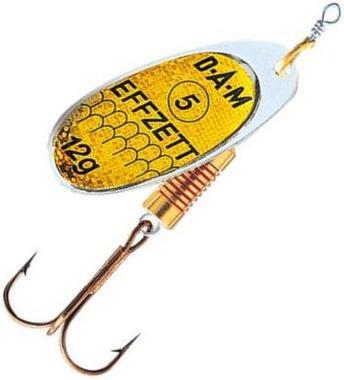 Блесна DAM Standart Spinner №4 10гр Reflex Gold