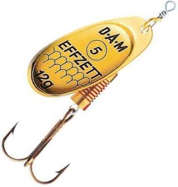 Блесна DAM Standart Spinner №3 6гр Gold
