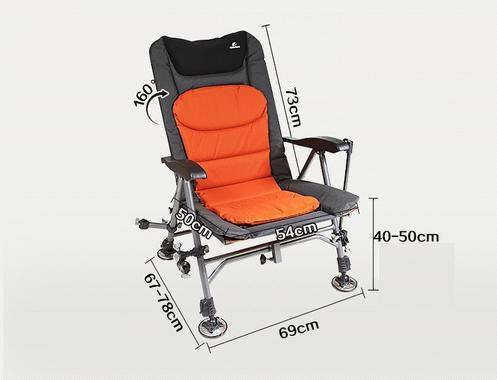 Кресло рыболовное складное с подлокотником WESTFIELD среднее