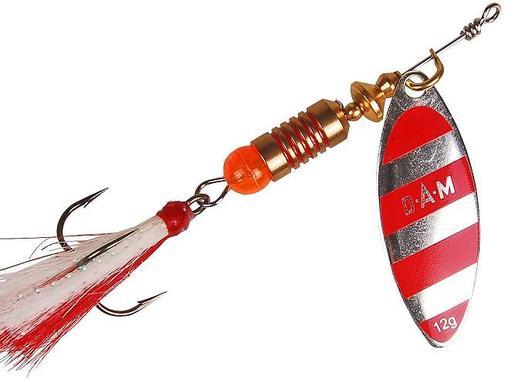 Блесна DAM Predator №2 7гр Stripe
