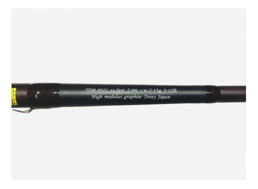 Спиннинг Champion Rods TEAM DUBNA BACKWATER TDB-802L light jigging 240 см 2-15 г