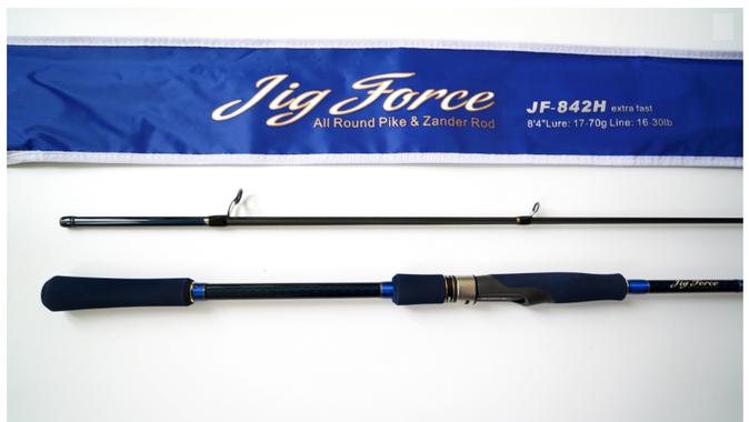 Спиннинг Hearty Rise Jig Force II JF-842H 255 см 17-70 гр