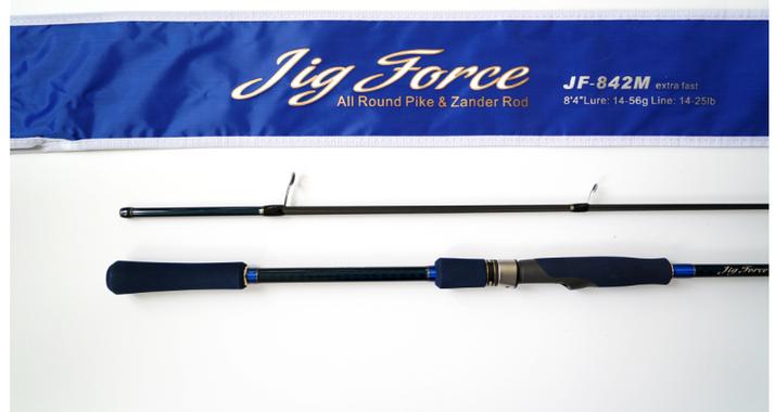 Спиннинг Hearty Rise Jig Force II JF-842M 255 см 10-42 гр