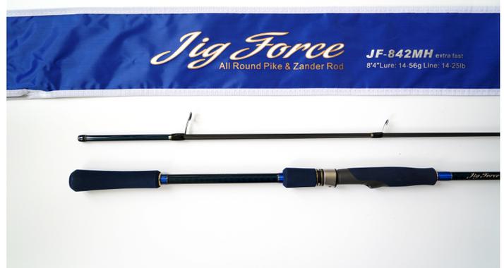 Спиннинг Hearty Rise Jig Force II JF-842MH 255 см 14-56 гр