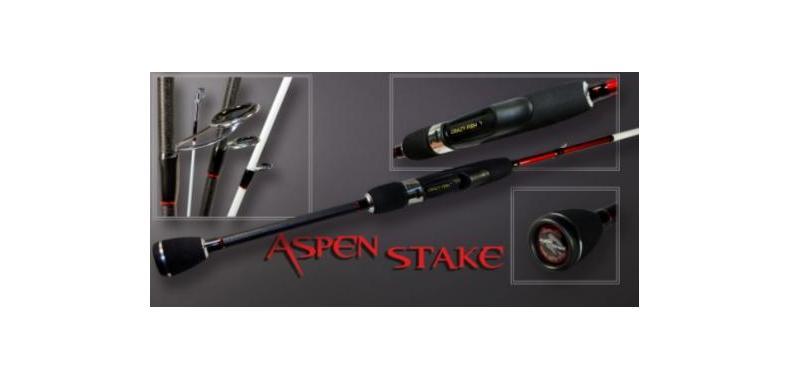 Спиннинг CRAZY FISH Aspen Stake AS602ULT 183 см тест 1-6 гр