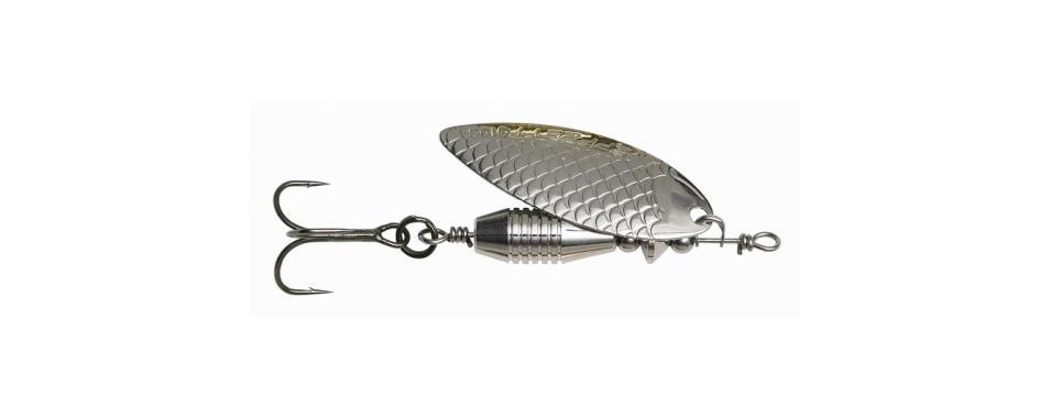 Вращающаяся блесна DAM Effzett Fast Water Spinners 10 гр Silver